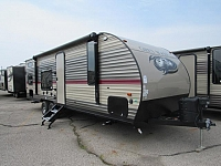 2018 Cherokee Grey Wolf 26DJSE Travel Trailer with Bunks
