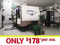Micro Lite 25BDS Camping Trailer with Outdoor Kitchen