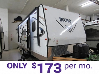 Micro Lite 25BHS Light Weight Travel Trailers with Murphy Bed and Bunks