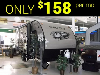 New 2017 Cherokee Wolf Pup 18TO Light Weight Travel Trailer