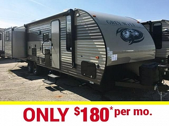 New 2017 Grey Wolf 27DBS Travel Trailer with Bunk Beds