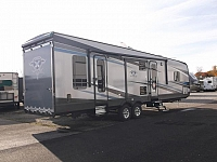 New 2017 Highlander 31RGR By Open Range - Toy Hauler with Rear Patio