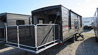 2018 Cherokee Grey Wolf 26RR Toy Hauler with Patio