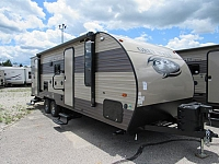 New 2018 Grey Wolf 23DBH Travel Trailer with Bunks