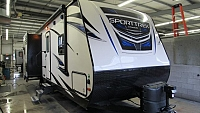 New 2018 Sporttrek 252VRD Rear Dinette with Kitchen Island and Fireplace
