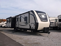 2017 SportTrek Touring Edition 334VRE Travel Trailer with King Bed & Fireplace