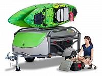 SylvanSport Go - Camper and Utility Trailer Combo