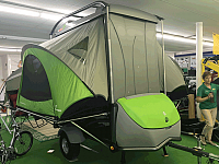 2017 SylvanSport Go - Camper and Utility Trailer Combo