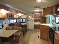 Used 2004 Fleetwood Advantage 300FQS Rear Bath Travel Trailer