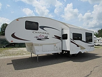 Used 2007 Coachmen Chaparral 269BHS Rear Bunkhouse Fifth Wheel