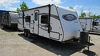 Used 2013 Surveyor Sport M-240 Travel Trailer with Outdoor Kitchen