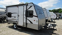 Used 2014 Cherokee Wolf Pup 16BH Light Weight Travel Trailer with Bunks