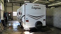 Used 2014 Layton 183 Camping Trailer