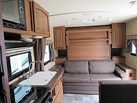 Used 2015 Micro Lite 23FB Rear Bath with Murphy Bed Travel Trailer
