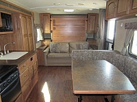 Used 2015 Rockwood Mini 2503S Rear Bath Travel Trailer by Forest River