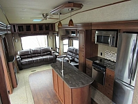 Used 2015 Sandpiper 378FB Fifth Wheel Trailer With Front Bath