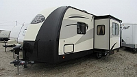 Used 2016 Forest River Vibe 221RBS Rear Bath Travel Trailer