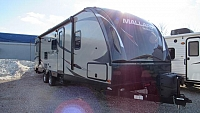 Used 2016 Heartland Mallard M-29 Bunkhouse with Queen Double Bunks Travel Trailer