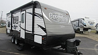 Used 2016 Prowler 22LX Travel Trailer with Bunk Beds