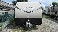 Used 2016 Venture RV Sonic Lite 169VBH Light Weight Camper with Bunks