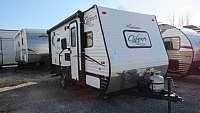 Used 2017 Coachmen Clipper 17BH Bunkhouse with Queen Bed Travel Trailer
