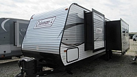 Used 2017 Coleman 296RK Rear Kitchen Travel Trailer