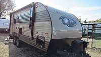 Used 2017 Grey Wolf 19RR Toy Hauler Travel Trailer
