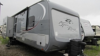 Used 2017 Open Range Roamer 310BHS Bunkhouse Travel Trailer