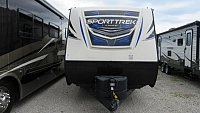 Used 2017 Sporttrek 251VRK Rear Kitchen Travel Trailer with Outdoor Kitchen
