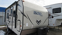 Used 2018 Flagstaff Microlite 19FD Camping Trailer with Murphy Bed