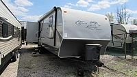 Used Open Range 337RLS Travel Trailer with Rear Living