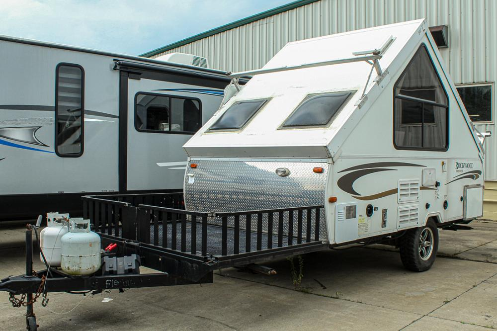 SOLD Used Pop-up Toy Hauler Camper for sale at All Seasons ...