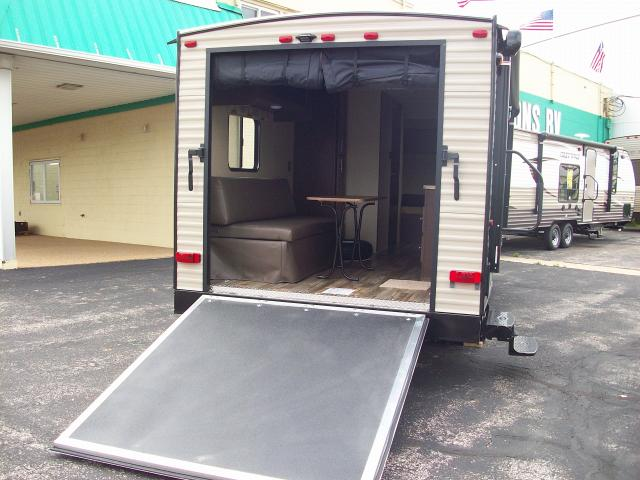 2016 Grey Wolf 19RR Toy Hauler with Rear Screen Tent Wall Travel Trailer & 2016 Grey Wolf 19RR Toy Hauler with Rear Screen Tent Wall Travel ...
