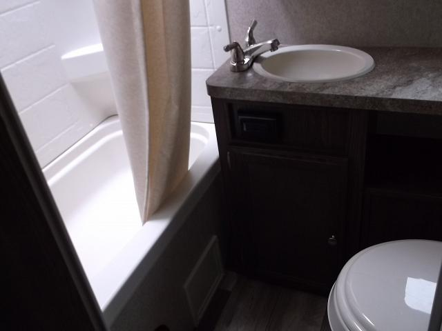 bathrooms with pedestal sinks 2017 micro lite 23lb travel trailer with murphy bed and bunks 17247