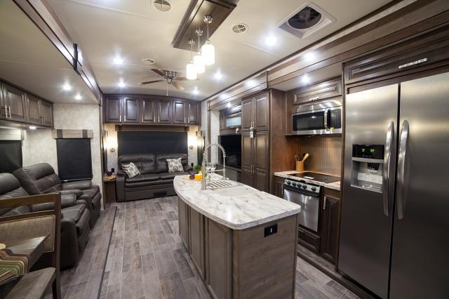 2017 Open Range 3X 397FBS 1 1/2 Bathroom Fifth Wheel