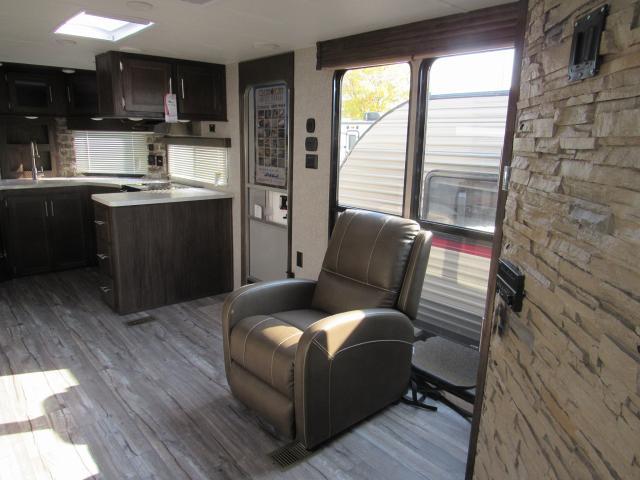 2018 Cherokee 274vfk V Nose Travel Trailer Front Kitchen