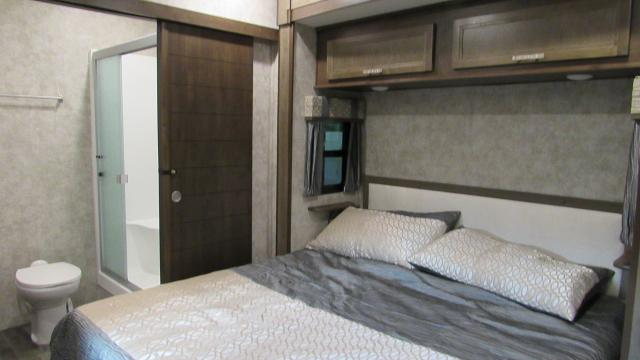 2018 Highland Ridge Open Range OF370RBS Front Living with Rear King Bed Fifth Wheel