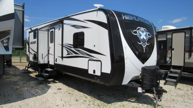 Used Rv Dealer Ohio >> 2018 Highlander 31RGR By Open Range - Toy Hauler with Rear Patio for sale at All Seasons RV in ...