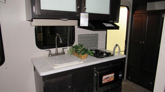 2018 Sonic Lite 150VRK Rear Kitchen w/Murphy Bed Travel Trailer by Venture RV