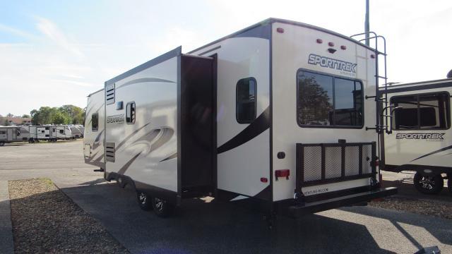 2018 SportTrek 290VIK Rear Living with Kitchen Island Travel Trailer