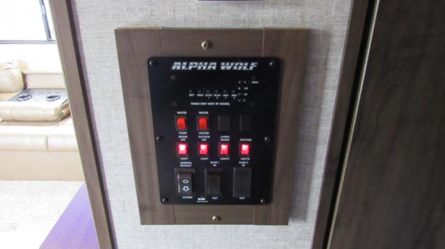 2019 Cherokee Alpha Wolf 27RK Rear Kitchen Travel Trailer
