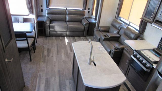 2019 Cherokee Arctic Wolf 285DRL4 - Rear Living Room 5th Wheel
