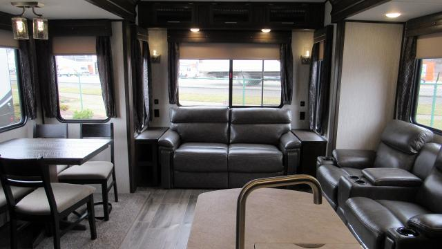 2019 Cherokee Arctic Wolf 285DRL4 - Rear Living Room 5th Wheel