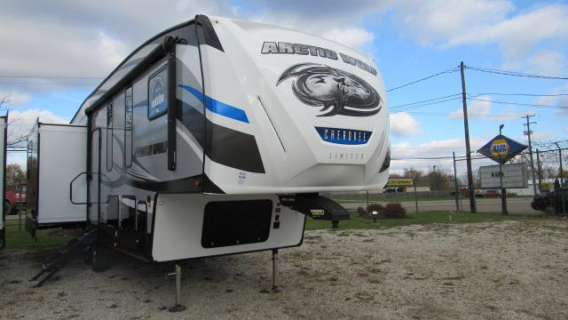 2019 Cherokee Arctic Wolf 295QSL8 Bunkhouse with Loft 5th Wheel