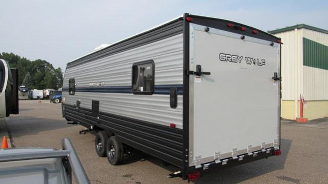 2019 Cherokee Grey Wolf 22RR Toy Hauler Travel Trailer