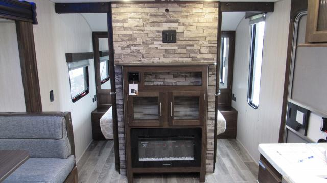 2019 Cherokee Grey Wolf 23DBH Camping Trailer with Bunk Beds