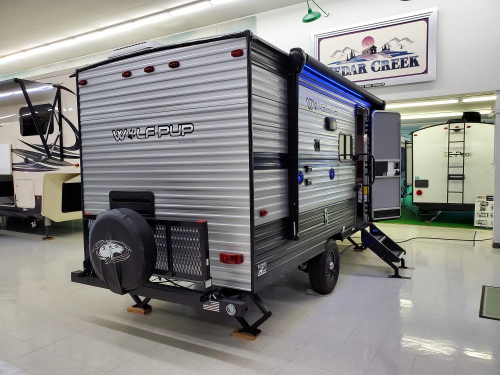 Forest River Cherokee Wolf Pup 16PF Camper Trailer for ...