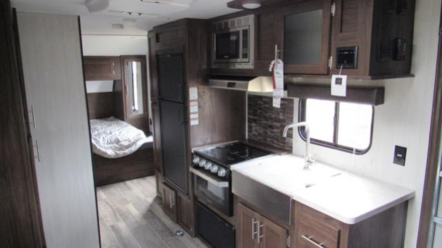 2019 Grey Wolf 19RR Toy Hauler with Ramp Patio System Travel Trailer