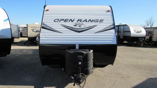 2019 Open Range 26BH Travel Trailer with Bunks by Highland Ridge RV