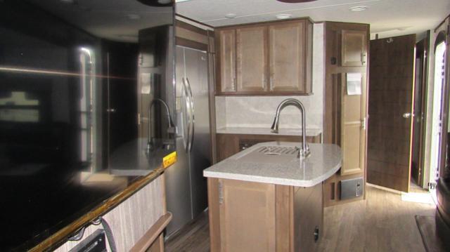 2019 Open Range 328BHS Highland Ridge RV with Bunks, Outdoor Kitchen & 1.5 Baths